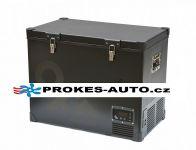 Indel B TB100 Steel OFF 12/24/230V 100L -18°C kompresorová autochladnička