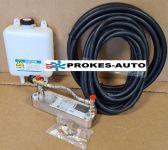 Vodní systém s deskovým výměníkem / obytné vozy / karavany / kombinace vodní a vzduchové vytápění