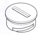 Webasto Kryt baterie na ovladač T91 9024567 / 9016157